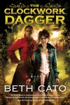 """It's Murder on the Orient Express"", on an airship, starring a healer."" - Beth Cato describes ""The Clockwork Dagger."""