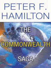 The Commonwealth Saga tells the story of Nigel Sheldon's rise to leadership and the founding of the Commonwealth.