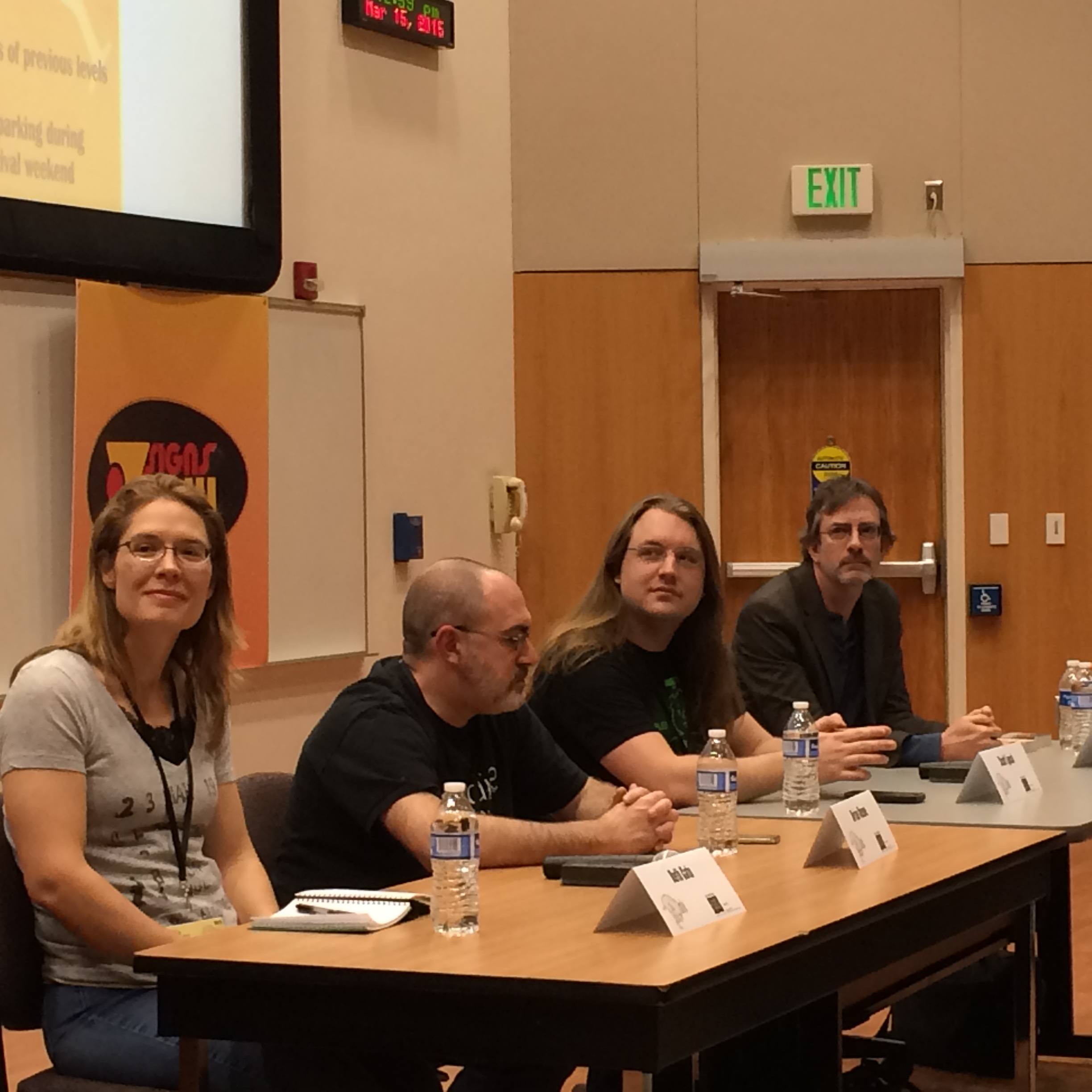 Scott Lynch (third From Left) At Tucson Festival Of Books With Beth Cato