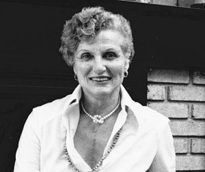Science fiction pioneer Alice B. Sheldon, who wrote under the name James Tiptree, Jr.